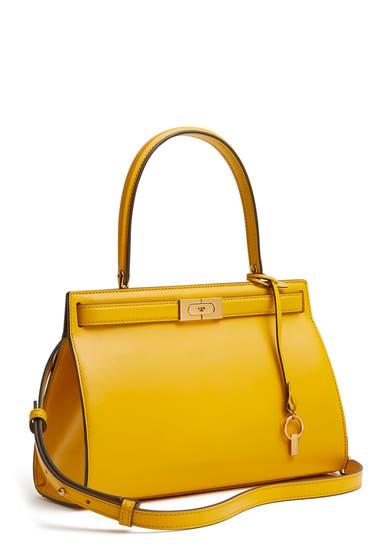 Genti Femei Tory Burch Small Lee Radziwill Leather Bag Daylily image0