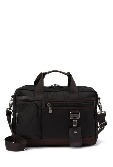 Genti Femei Tumi Carr Commuter Expansion Top Zip Briefcase Hickory image0