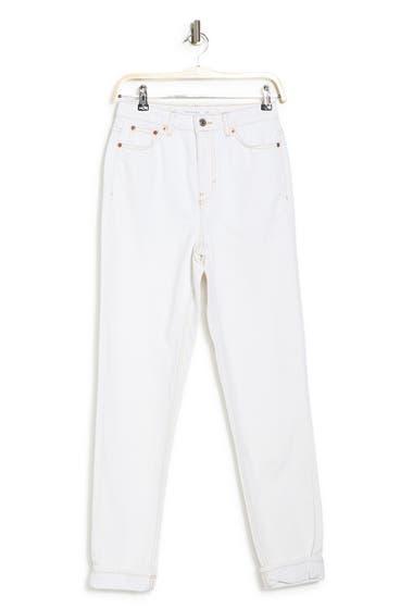 Imbracaminte Femei TOPSHOP Mom Jeans Mid Denim image0