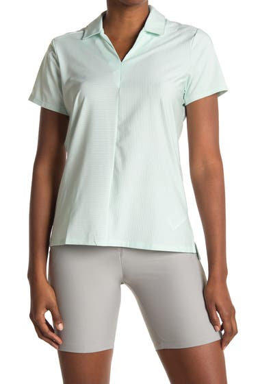 Imbracaminte Femei adidas Golf Short Sleeve Collared Golf Shirt Dash Green image0