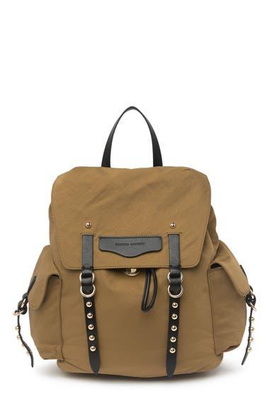 Genti Femei Rebecca Minkoff Bowie Nylon Backpack Military image0