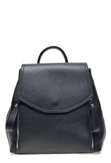 Genti Femei Carla Ferreri Leather Backpack Nero image0