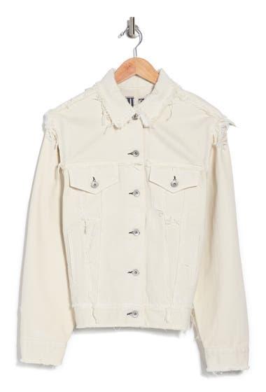 Imbracaminte Femei RAG AND BONE Cruella Dodie Oversized Jacket White image0