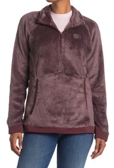 Imbracaminte Femei Mountain Hardwear Polartech High Loft Faux Fur Pullover Warm Ash image0
