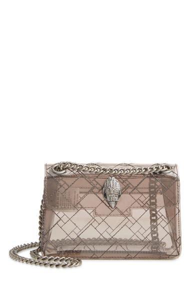 Genti Femei Kurt Geiger London Mini Kensington Transparent Shoulder Bag Grey image0