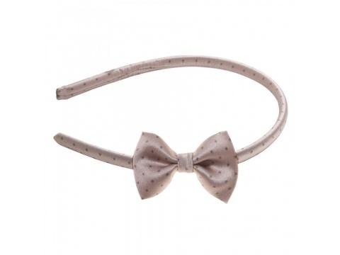 Accesorii Femei Tie Me Up Headband cu fundita Pretty Woman fond bej Universala
