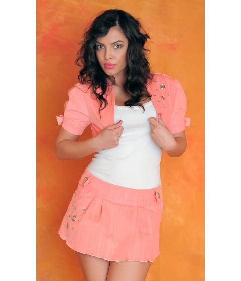 Imbracaminte Femei Sevy Bolero Pink Passion Universala