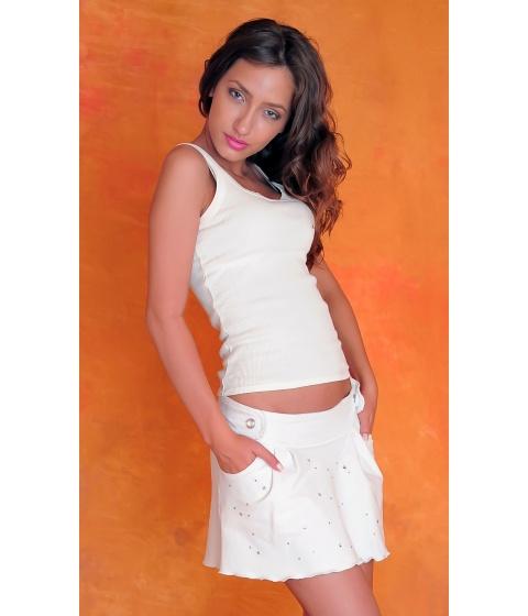 Imbracaminte Femei Sevy Fusta White Passion Universala