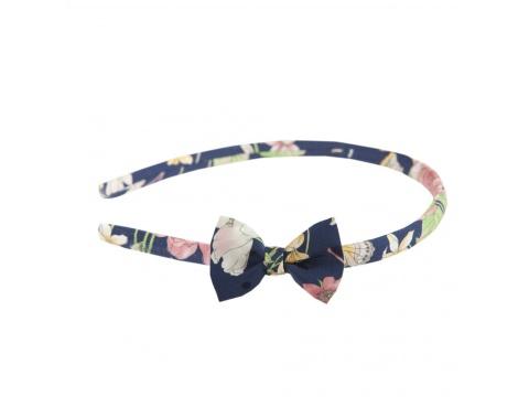 Accesorii Femei Tie Me Up Headband cu fundita trandafiri roz Universala