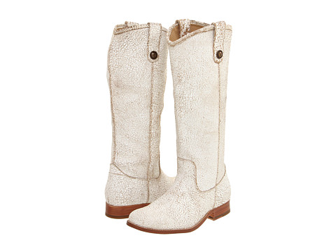 Incaltaminte Femei Frye Melissa Button White (Cracked Leather)