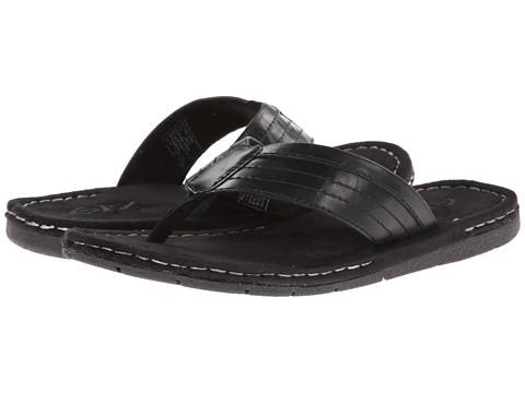 Incaltaminte Barbati GBX Leather Thong Black