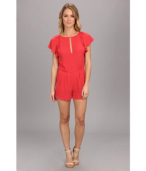 Imbracaminte Femei BCBGMAXAZRIA Karmin Woven Sportswear Jumper Poppy
