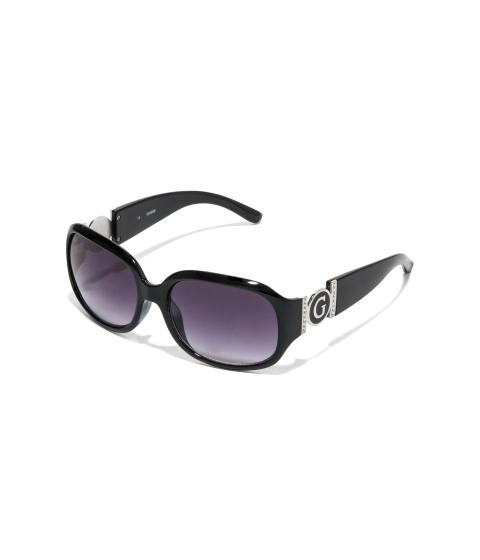 Accesorii Femei GUESS Cutout Logo Plastic Sunglasses black