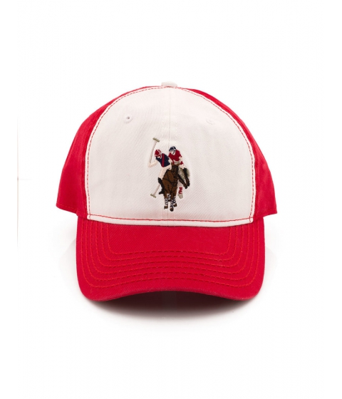 Accesorii Barbati US Polo Assn Adjacent Baseball Cap Engine Red