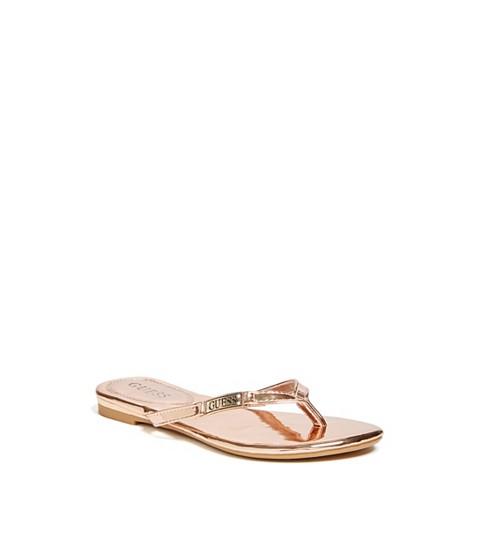 Incaltaminte Femei GUESS Kassie Thong Sandals rose gold