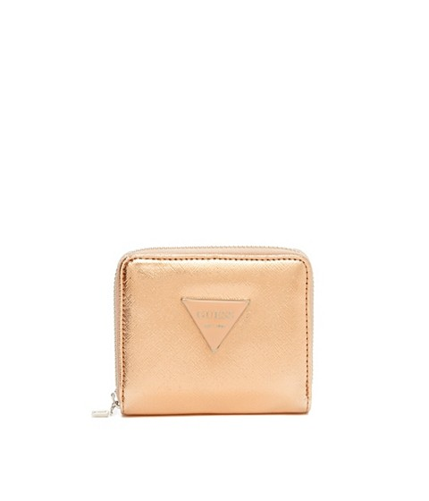 Accesorii Femei GUESS Abree Small Zip-Around Wallet rouge