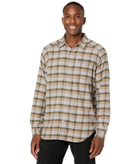 Imbracaminte Barbati Columbia Cornell Woodstrade Flannel Long Sleeve Shirt Columbia Grey Medium Window Tartan image0