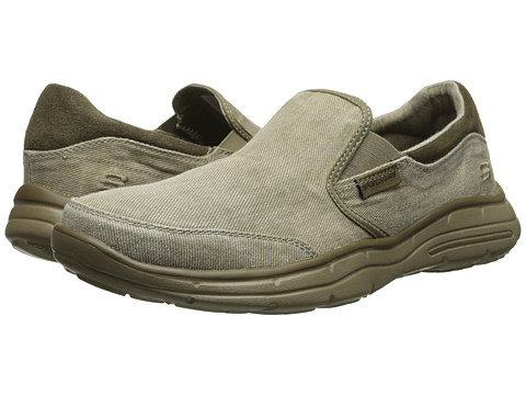 Incaltaminte Barbati SKECHERS Relaxed Fit Glides - Adamant Taupe