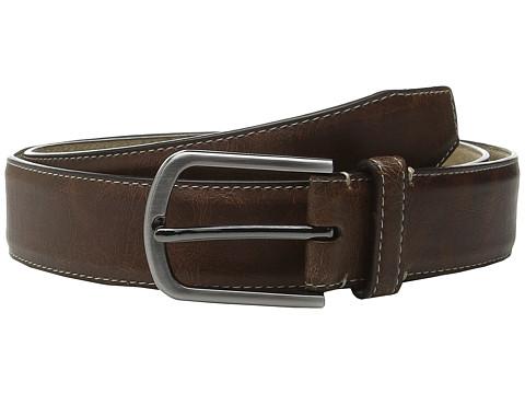 Accesorii Barbati Steve Madden 35mm Vintage Crackle Belt Tan