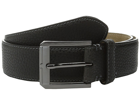 Accesorii Barbati Steve Madden 35mm Two-Tone Milled Belt Brown