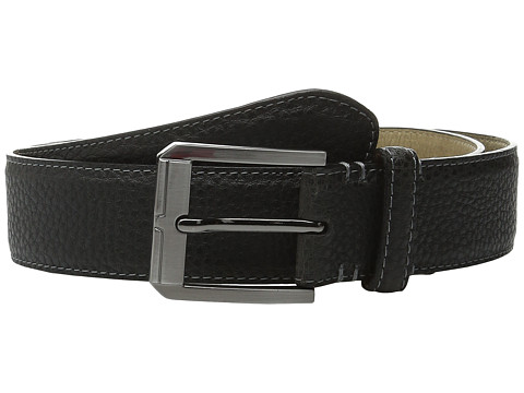 Accesorii Barbati Steve Madden 35mm Two-Tone Milled Belt Grey