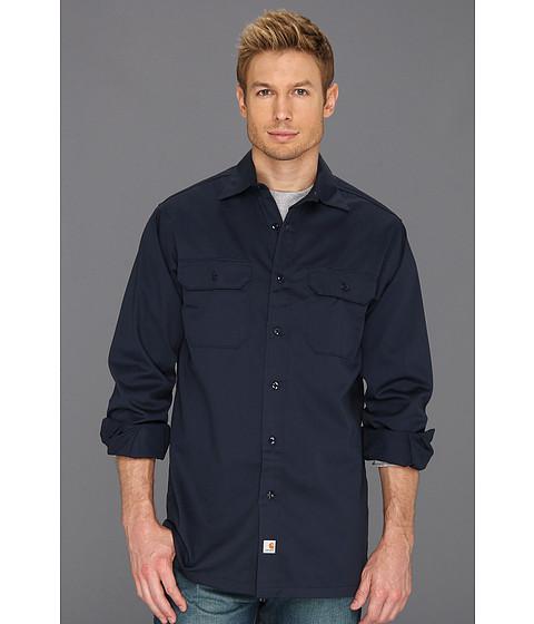 Imbracaminte Barbati Carhartt Twill LS Work Shirt Navy
