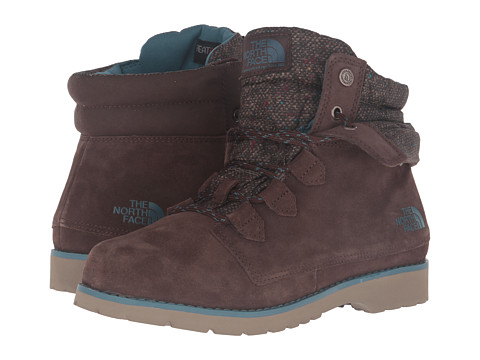 Incaltaminte Femei The North Face Ballard Roll-Down SE Demitasse BrownTapestry Blue (Prior Season)